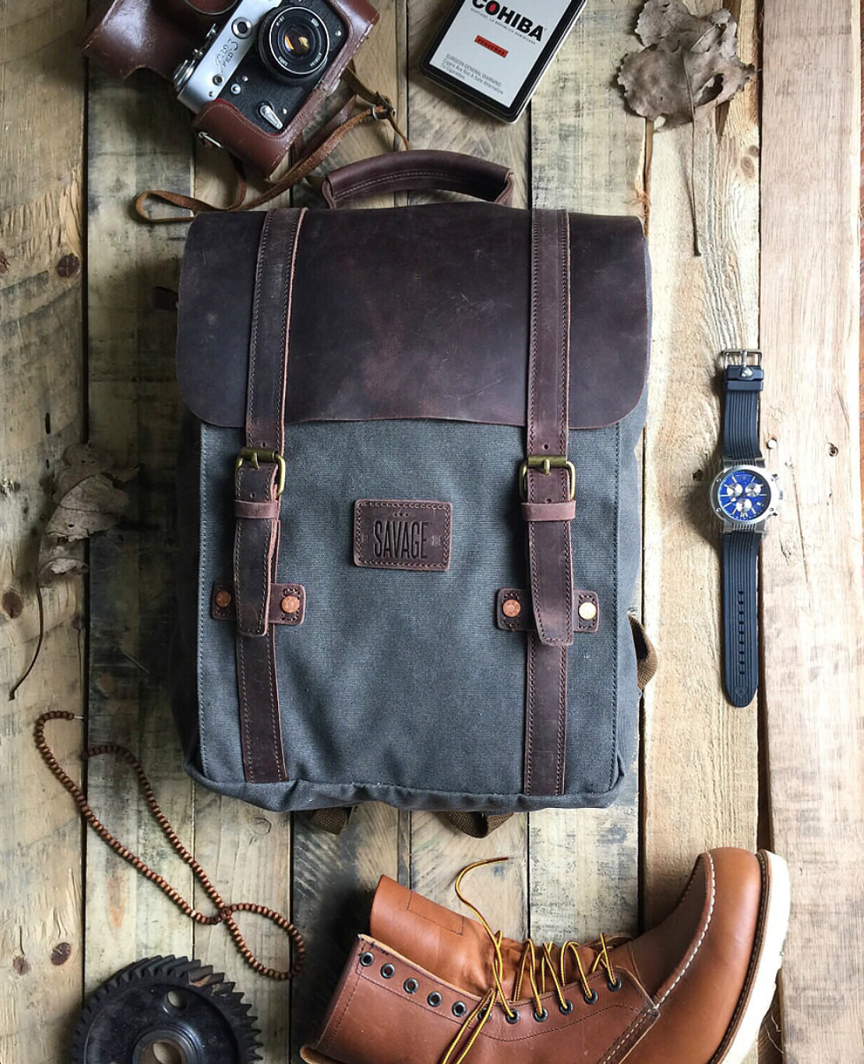 Fiddle + Spoon |  Backpacks